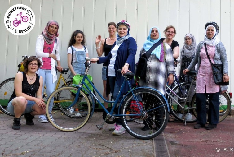 Gruppenbild der Initiative BIKEYGEES