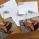Fertig! Die Postkarte zu meinem Lastenrad :-) ab die Post in Hamburg