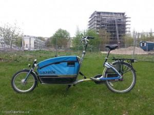 Gazelle Lastenrad für 2 Kinder